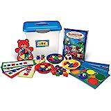 Learning Resources 三熊家庭分类,模式和玩耍活动套装,家庭学校配件,计数和分类,适合 3 岁以上儿童