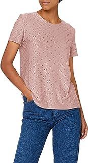 JDY 女式 Jdycathinka S/S 标签上衣 JRS Noos T 恤, Woodrose, XXL