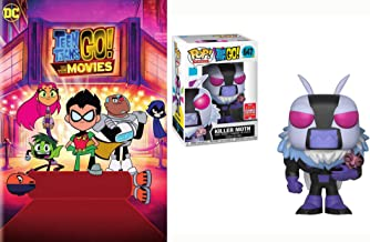 SLADEEEEEEEEEEA! Da-da-ra-da-da! Movie & Funko POP! Killer Moth(2018年夏季会议*销售)#647 + Teen Titans Go The Movie DVD/Figure 套装