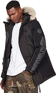 G-STAR RAW 男士 Vodan 加垫连帽大衣