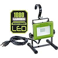 PowerSmith PWL110S 1080 Lumen LED Work Light Stand and Large…