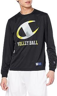 Champion 训练长袖T恤 * 防臭 速干 排球基础款 C3-UV401 男士