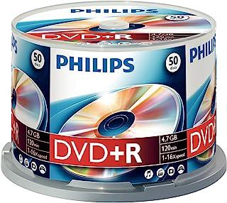 Philips 飞利浦 DVD+R 刻录机(4.7 GB Data / 120 分钟视频,16 x 高速录制,50 个主轴)