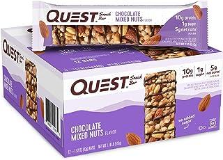 Quest Nutrition 海盐焦糖杏仁零食棒 Chocolate Mixed Nuts 12片装