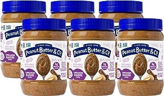 Peanut Butter & Co. 葡萄干肉桂花生酱,螺旋状,非基改食品,不含麸质,素食产品,约454克。