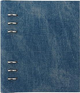 Filofax B145002 可填充 Architexture 剪贴簿,A5尺寸,牛仔布