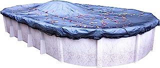 robelle 441224标准叶净适用于脚椭圆形 above-ground 游泳池 02 - Premium Leaf Net 16' x 32' Oval Pool
