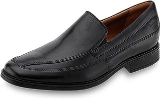 Clarks 男式 商务正装休闲皮鞋 Tilden Free 一脚蹬乐福鞋