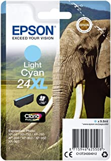 Epson 爱普生 T24 墨盒 大象 XL cyan Light Cyan