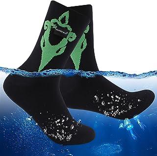 RANDY SUN 防水徒步袜,中性款圆领防风透气户外运动袜 1 双
