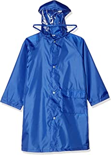 Maruju Corporation 儿童 雨衣 儿童 可书包使用 男童 女童 上学 附收纳袋 共6种颜色 3种尺寸 5002182