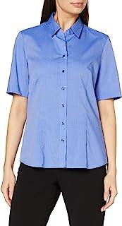 Seidensticker 女式半袖衬衫衬衫