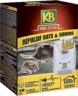 KB 老鼠和鼠标防御 超声波电磁和闪光灯,1件