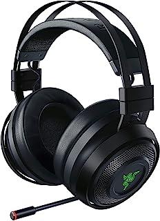 Razer 雷蛇 Nari Ultimate: THX Spatial Audio - HyperSense技术 - 2.4GHz无线音频 - 冷却凝胶注入式软垫 - 游戏耳机 适用于PC,PS4,Xbox One,Switch和移动设备