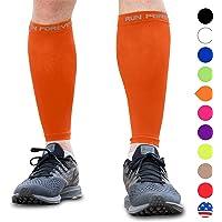 小腿压缩套 – 腿部压力袜适用于跑步者、胫骨夹板、*和小腿* – 小腿护具非常适合跑步、骑行、孕妇、旅行、*使用