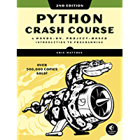 Python Crash Course, 2nd Edition: A Hands-On, Project-Based…