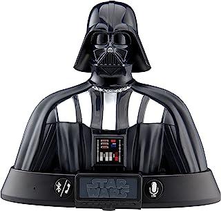 eKids Star Wars Darth Vader 便携式蓝牙音箱可充电音箱兼容 Siri Google Assistant (LI-B67DVv7)