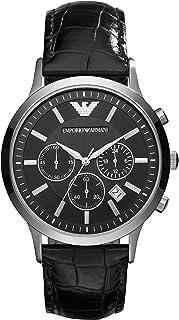 Emporio Armani 阿玛尼 男士石英机芯不锈钢手表