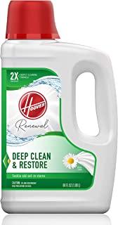 Hoover 胡佛 Renewal 深层清洁地毯洗发水,浓缩机洗液,64盎司*,AH30924,白色