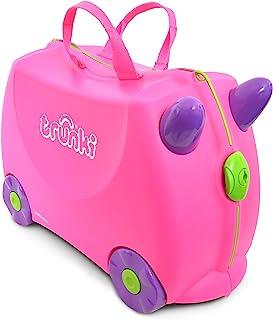 英国 Trunki 骑坐式小型行李箱-粉色/桃红色(Trixie) TR0061-GB01
