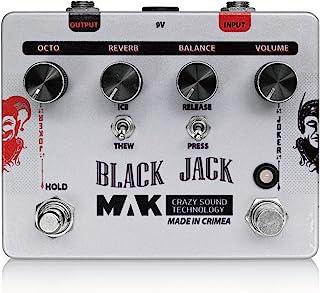MAK Crazy Sound Technology 麦克雷吉音效技术 效果器 吉他合成器/八度器Black Jack 【国内正规商品】