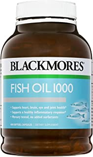 BLACKMORES 澳佳宝 鱼油1000胶囊,400粒