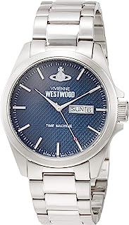 Vivienne Westwood 手表 康登锁 不锈钢 蓝色表盘 石英 VV063NVSL 男士