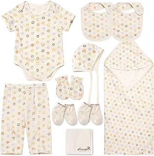 WithOrganic - *好的新生儿礼品套装   * *认证棉   10 件   适合男婴或女童