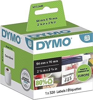 Dymo 标签 白色 54 x 70 mm