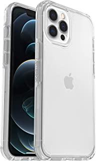 OtterBox Symmetry Clear - 防摔、防震、优雅、透明保护套,适用于 Apple iPhone 12 Pro Max