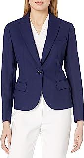 Anne Klein 女士单扣夹克