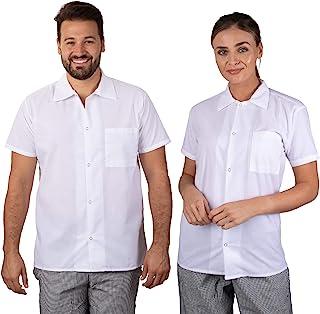 Elite Kitchens Apparel 专业厨师衬衫 白色散装包