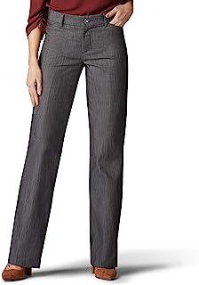 Lee 女士 Flex Motion 标准修身长裤