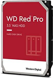 Western Digital 西部数据 18TB WD Red Pro NAS 内置硬盘 - 7200 RPM Class SATA 6 Gb/s,CMR,256 MB 缓存,3.5 英寸 - WD181KFGX