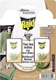 Raid Motten-凝胶,防护衣,雪松香味,1 x 2件,可长达3个月的父母