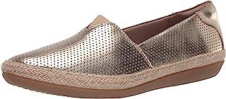 Clarks 女士 Danelly Sky 乐福平底鞋