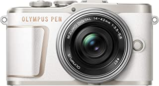 OLYMPUS 无反光镜单反相机 如有E-PL10 14-42mm EZ镜头套装 白色