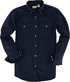 Backpacker 男式纯色法兰绒衬衫