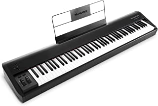 M-Audio Hammer 88 – 高品质 88 键锤式机械 USB / MIDI 键盘控制器,包括一个工作室级软件套件,1 件
