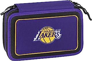 NBA LOS ANGELES LAKERS 笔袋 3 个拉链 完整 62613