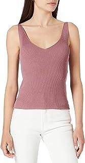 JdY 女士 Jdynanna S/L 上衣 KNT Noos 吊带衫/ami 衬衫 紫色 XS