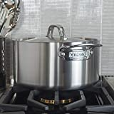 Viking Professional 5-Ply Stainless Steel Stockpot with Lid…