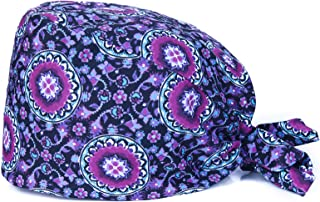 Kousenpu 帽子工作帽带吸汗带可调节帽子,适合女士,长发
