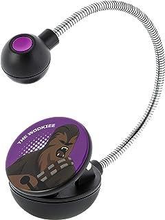 WITHit Disney 星球大战夹式书灯 �C Wookiee Galaxy of Adventures �C Chewbacca LED 阅读灯,减少眩光,便携,轻质书签灯,适合儿童和成人,含电池