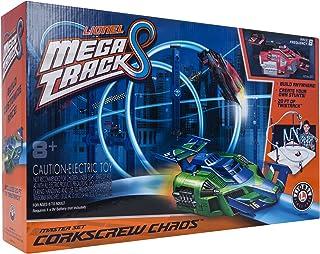 Lionel Mega Tracks,定制赛车轨道,Corkscrew Chaos Red Engine