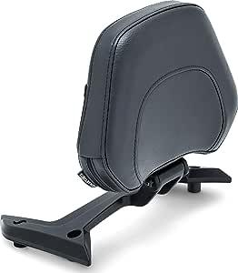 Kuryakyn 6773 摩托车配件:Omni 乘客座椅靠背垫,适用于 2018-19 本田金翼摩托车,黑色