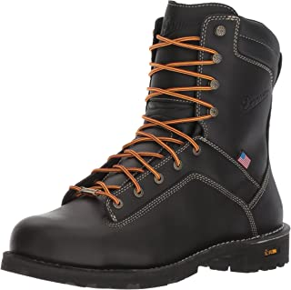 Danner Quarry USA 8 英寸黑色工装靴