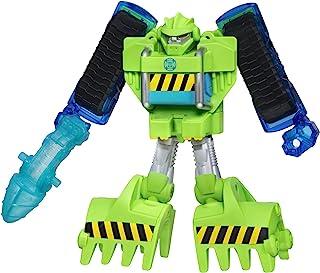 Playskool Heroes 变形金刚 救援机器人 活力巨石 施工机器人活动人偶 3-7岁