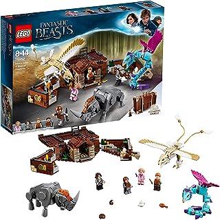 LEGO 乐高 75952 哈利·波特奇幻野兽纽特的魔法生物玩具箱,乐高巫师世界积木空间神奇皮箱