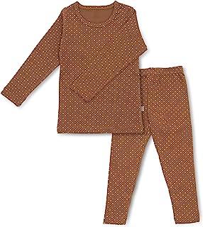 男婴女童波点睡衣套装 6M-8T 儿童幼儿舒适纯棉睡衣